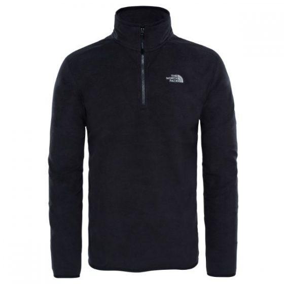 The North Face חולצת פליס 100 GLACIER 1/4 ZIP FLEECE PULLOVER נורת פייס
