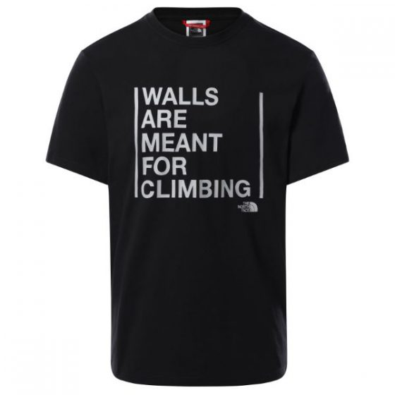 The North Face טי שירט WALLS ARE FOR CLIMBING נורת פייס