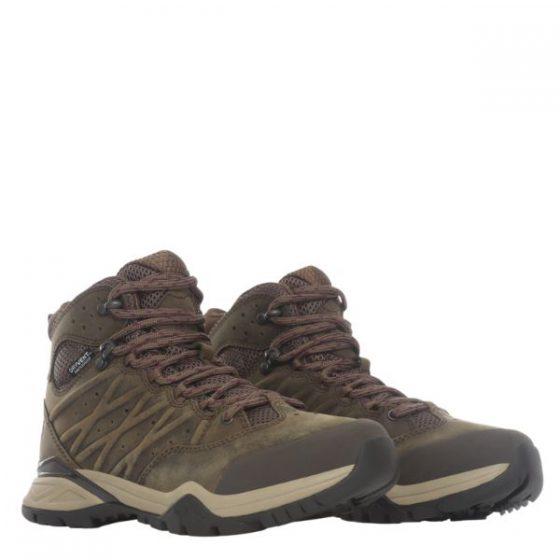 The North Face נעלי מטיילים אטומות למים HEDGEHOG HIKE II WATERPROOF MID נורת פייס
