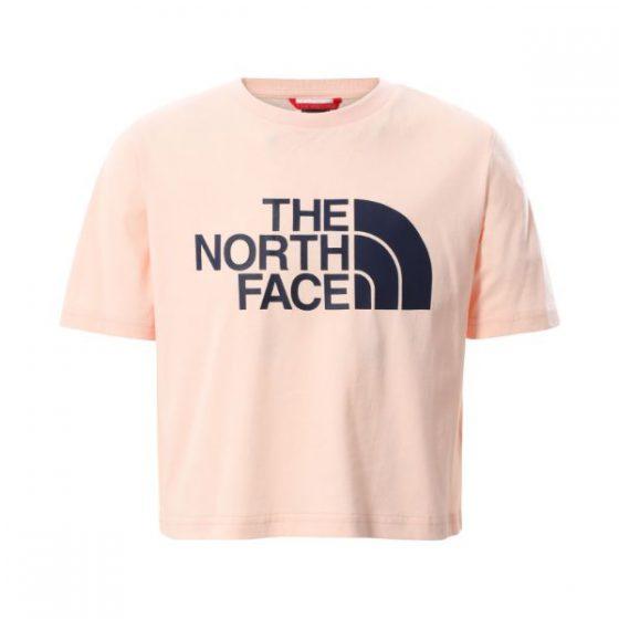 The North Face טי שירט ילדות EASY CROPPED TEE נורת פייס