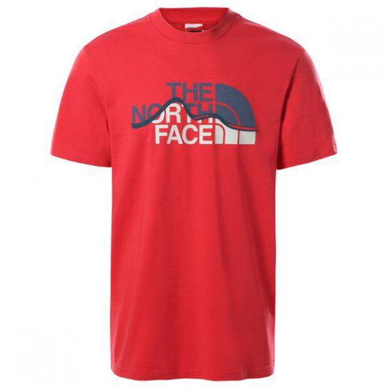 The North Face טי שירט MOUNTAIN LINE נורת פייס
