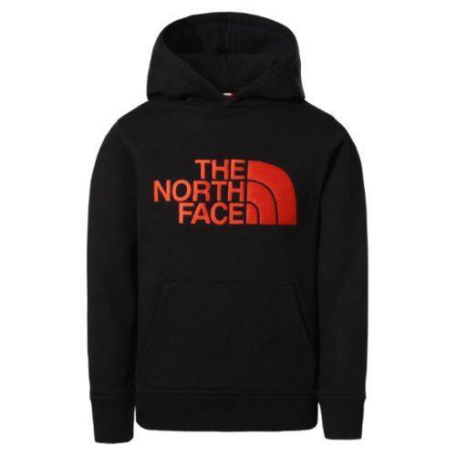 The North Face סוויטשירט ילדים עם כובע DREW PEAK נורת פייס